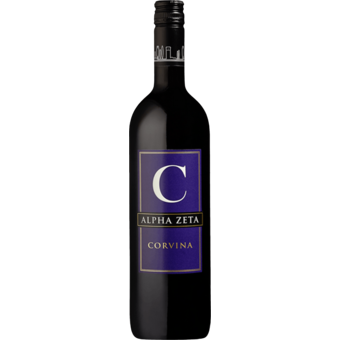 Bottle shot for 2019 Alpha Zeta 'c' Corvina