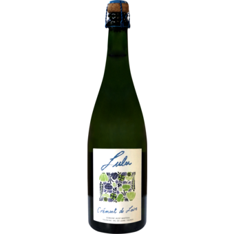 "Bottle shot for  Domaine Jacky Marteau ""Lulu"" Cremant"