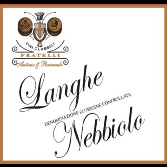 Label shot for 2018 Fratelli Antonio E Raimondo Langhe Doc Nebbiolo