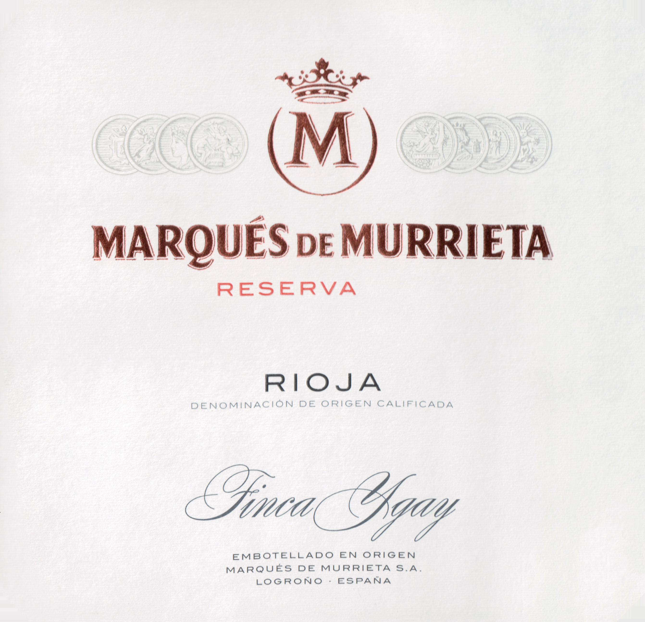 Marques De Murrieta Reserva Rioja 2016