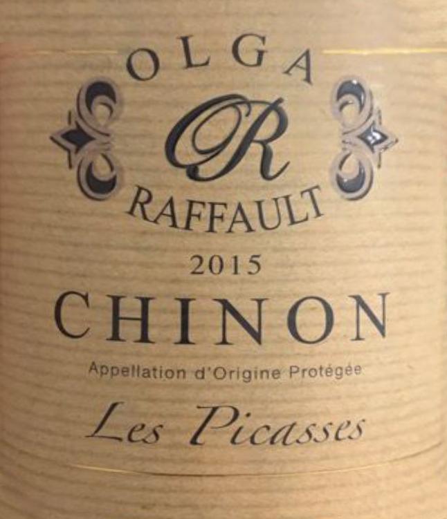 Olga Raffault Chinon Les Picasses 2015
