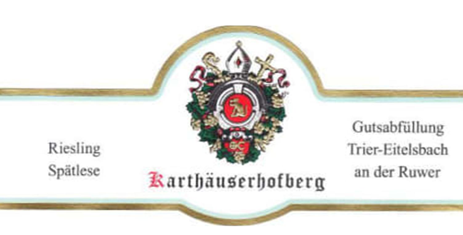 Karthauserhof Karthauserhofberg Spatlese Riesling 2018