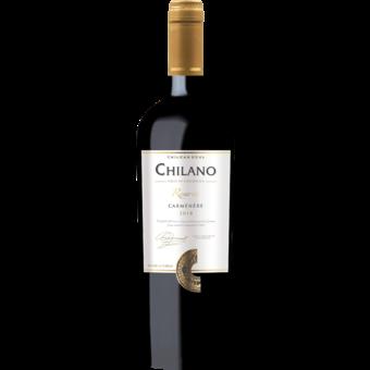 Bottle shot for 2018 Chilano Reserve Carmenere