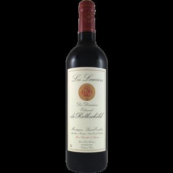 Bottle shot for 2017 Les Lauriers De Rothschild Montagne Saint Emilion (U)P