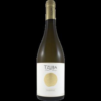 Bottle shot for  Tzuba Chardonnay Judean Hills