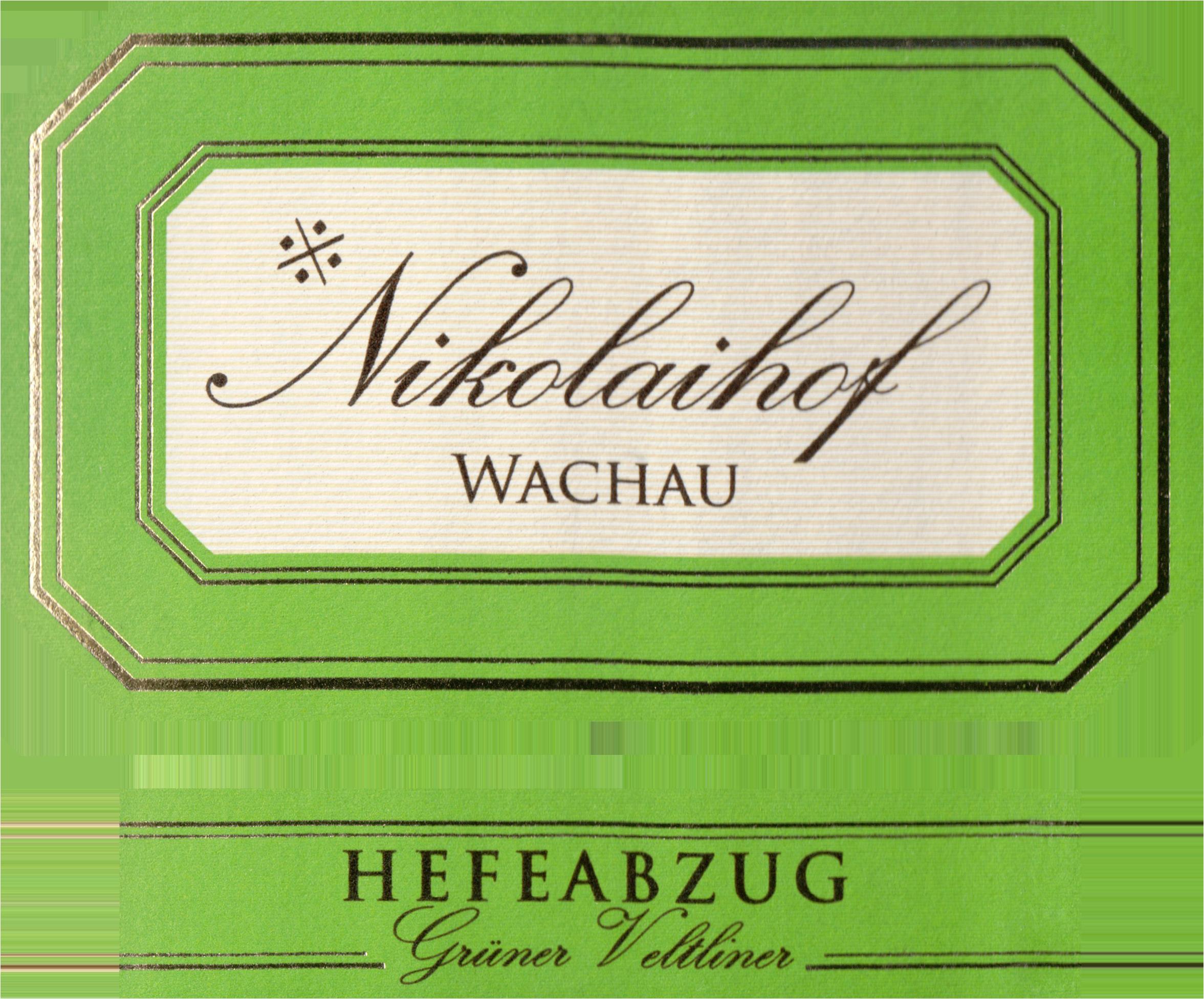 Nikolaihof Hefeabzug Gruner Veltliner 2018