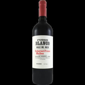 Bottle shot for 2017 Fuego Blanco Cabernet Franc Malbec