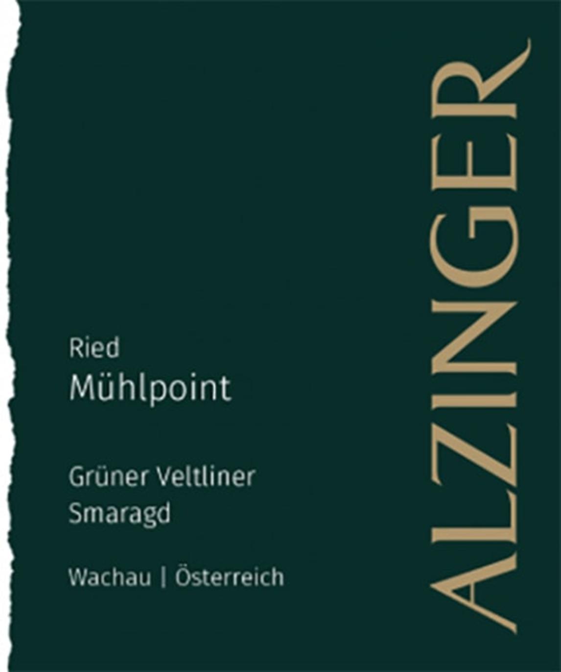 Alzinger Gruner Veltliner Ried Muhlpoint Smaragd 2017