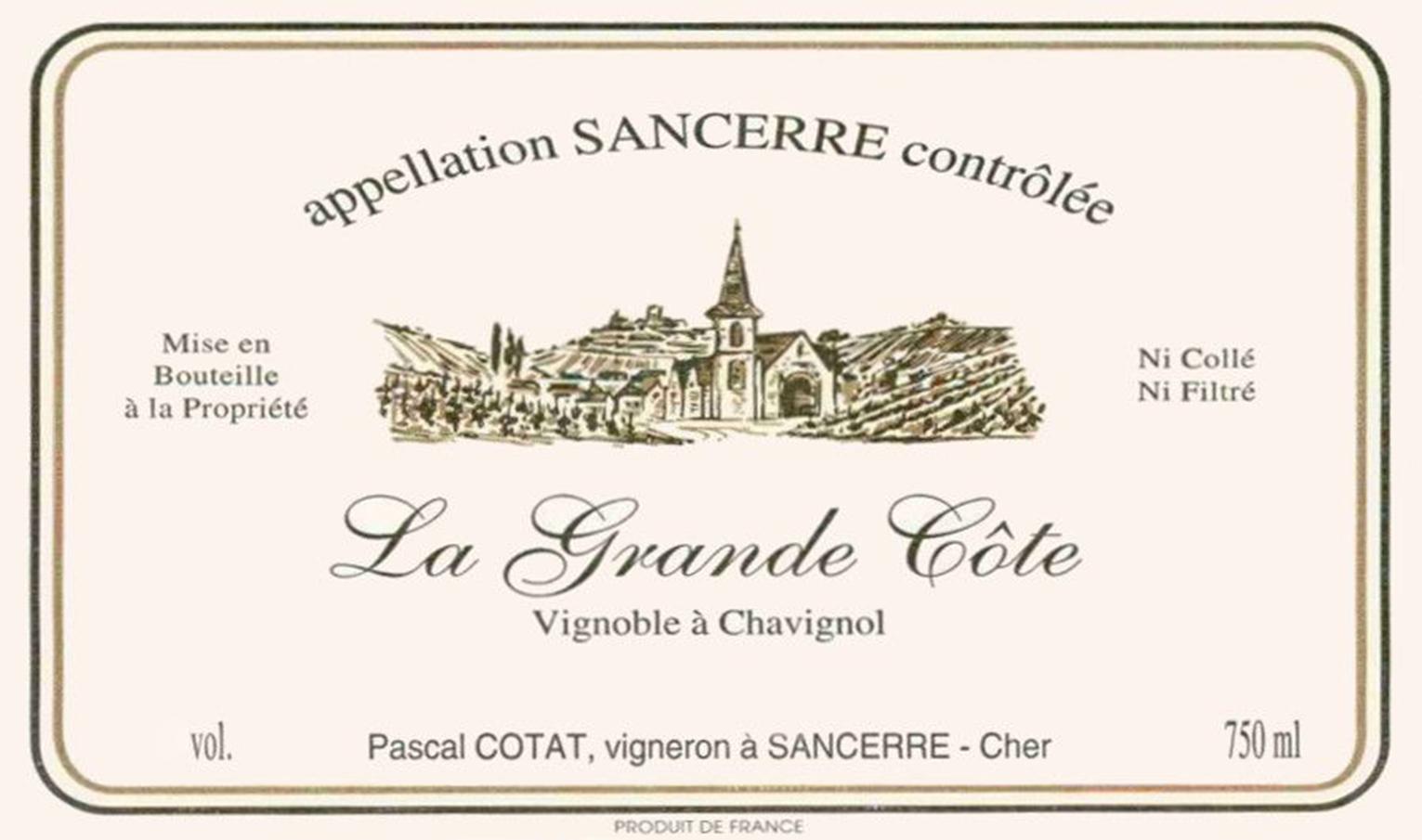 Pascal Cotat Chavignol Sancerre