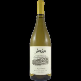 Bottle shot for 2018 Jordan Vineyard Chardonnay