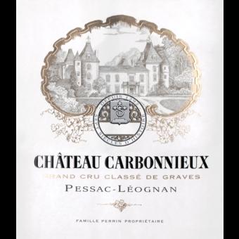 Label shot for 2018 Chateau Carbonnieux