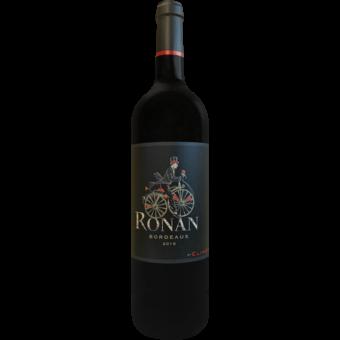 Bottle shot for 2016 Chateau Ronan By Clinet