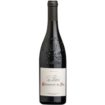 Bottle shot for 2016 Famille Chaussy Chateauneuf Du Pape