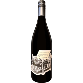Bottle shot for 2016 Grapesmith & Crusher Pinot Noir