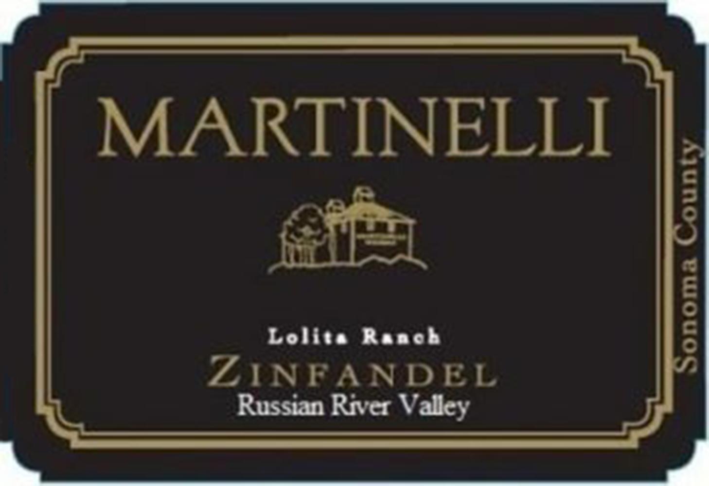 Martinelli Lolita Ranch Zinfandel 2018