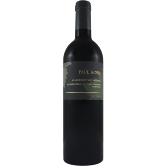 Bottle shot for 2017 Paul Hobbs Beckstoffer Las Piedras Cabernet Sauvignon