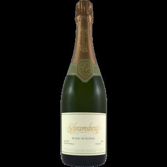 Bottle shot for 2017 Schramsberg Blanc De Blanc