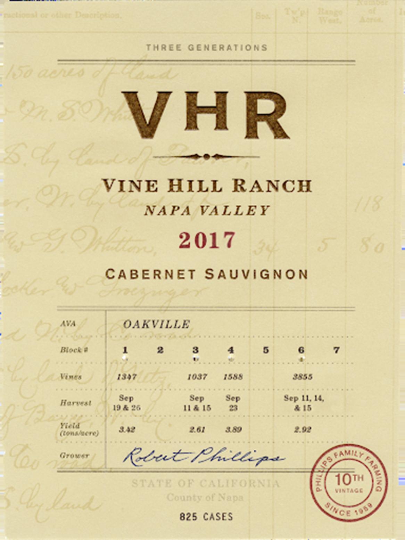 Vine Hill Ranch Cabernet Sauvignon 2017