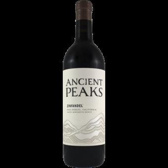 Bottle shot for 2018 Ancient Peaks Zinfandel