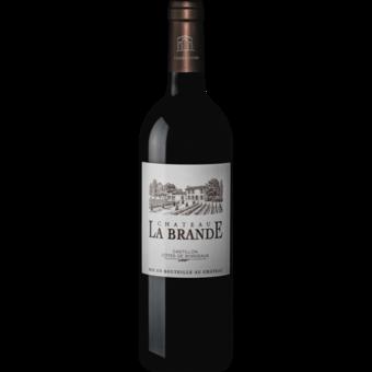 Bottle shot for 2015 Chateau La Brande Castillon Cotes De Bordeaux