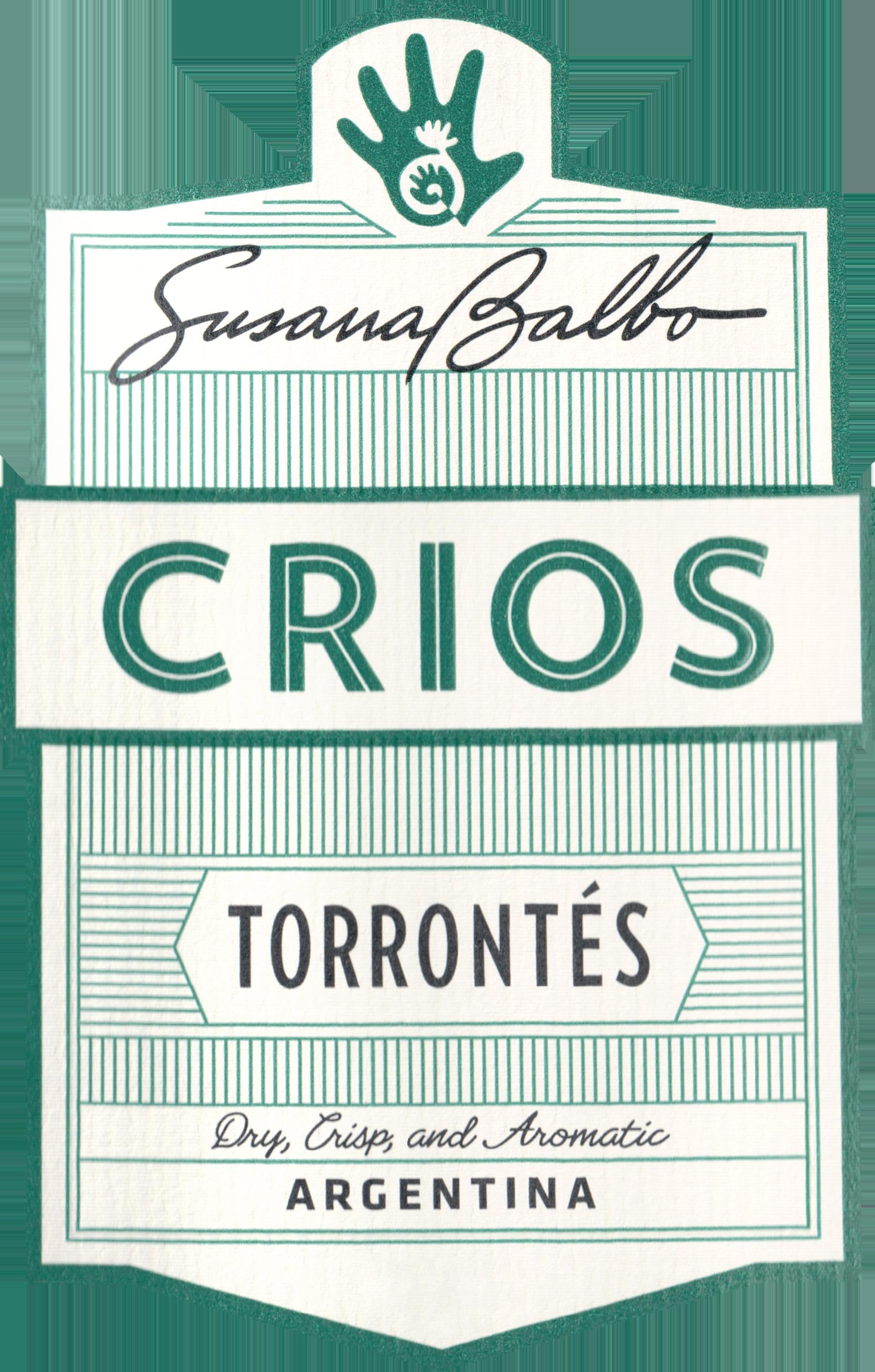 Crios De Susana Balbo Torrontes 2019