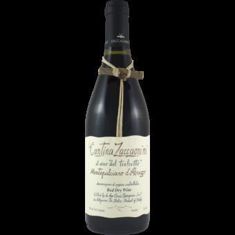 Bottle shot for 2018 Cantina Zaccagnini Montepulciano D'abruzzo