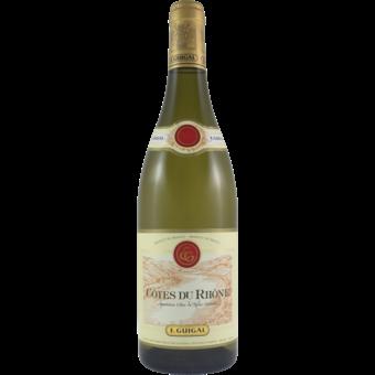 Bottle shot for 2018 Guigal Cotes Du Rhone Blanc