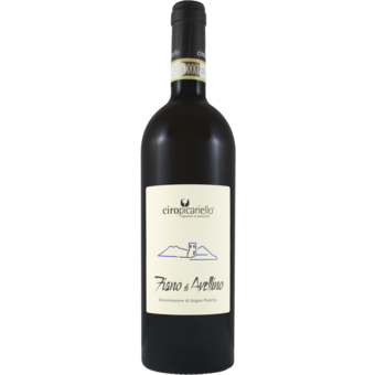 Bottle shot for 2019 Ciro Picariello Fiano Di Avellino