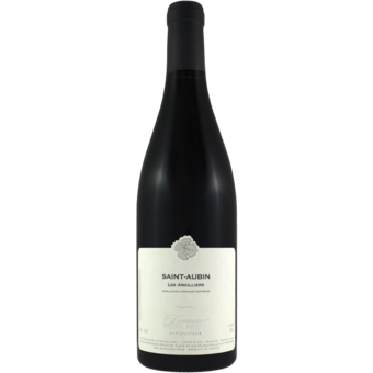 Bottle shot for 2017 Lamy Pillot Saint Aubin Argilliers