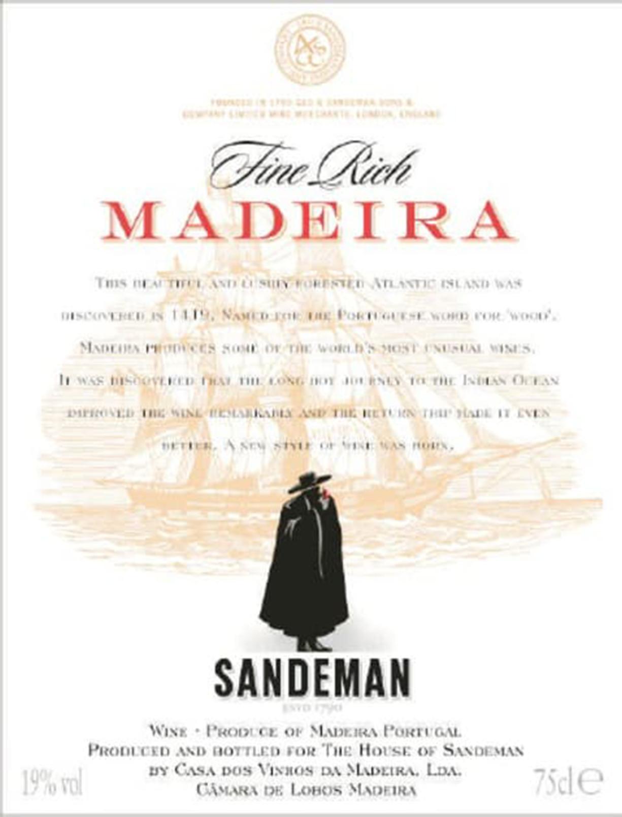 Sandeman Madeira Fine Rich