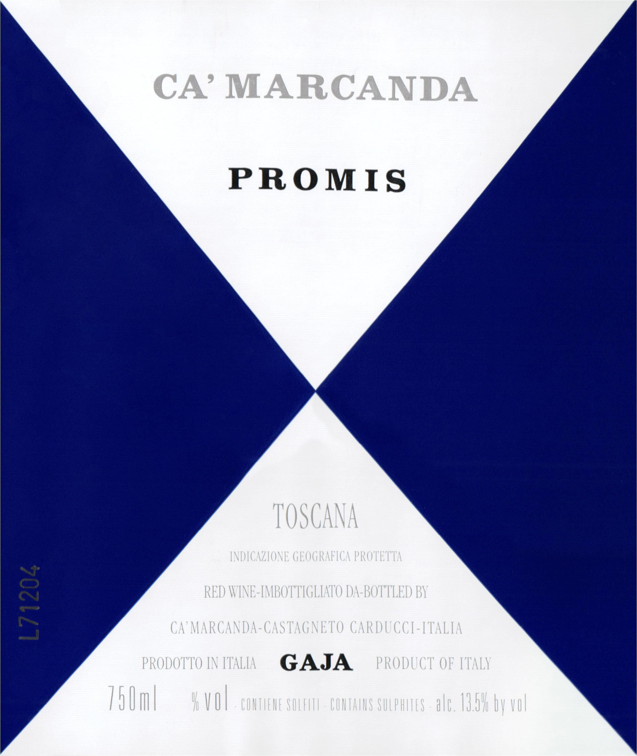 Gaja Ca Marcanda Promis 2018