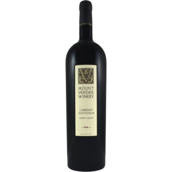 Bottle shot for 2018 Mount Veeder Cabernet Sauvignon