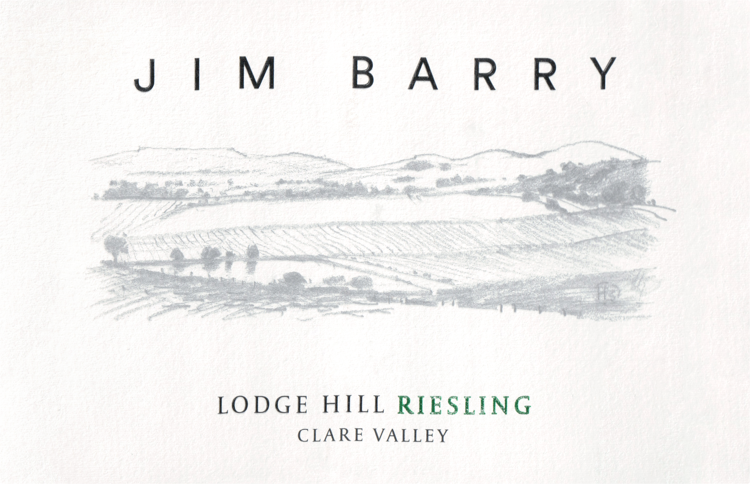 Jim Barry Dry Riesling The Lodge Hill 2019