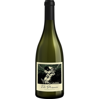Bottle shot for 2019 The Prisoner Chardonnay