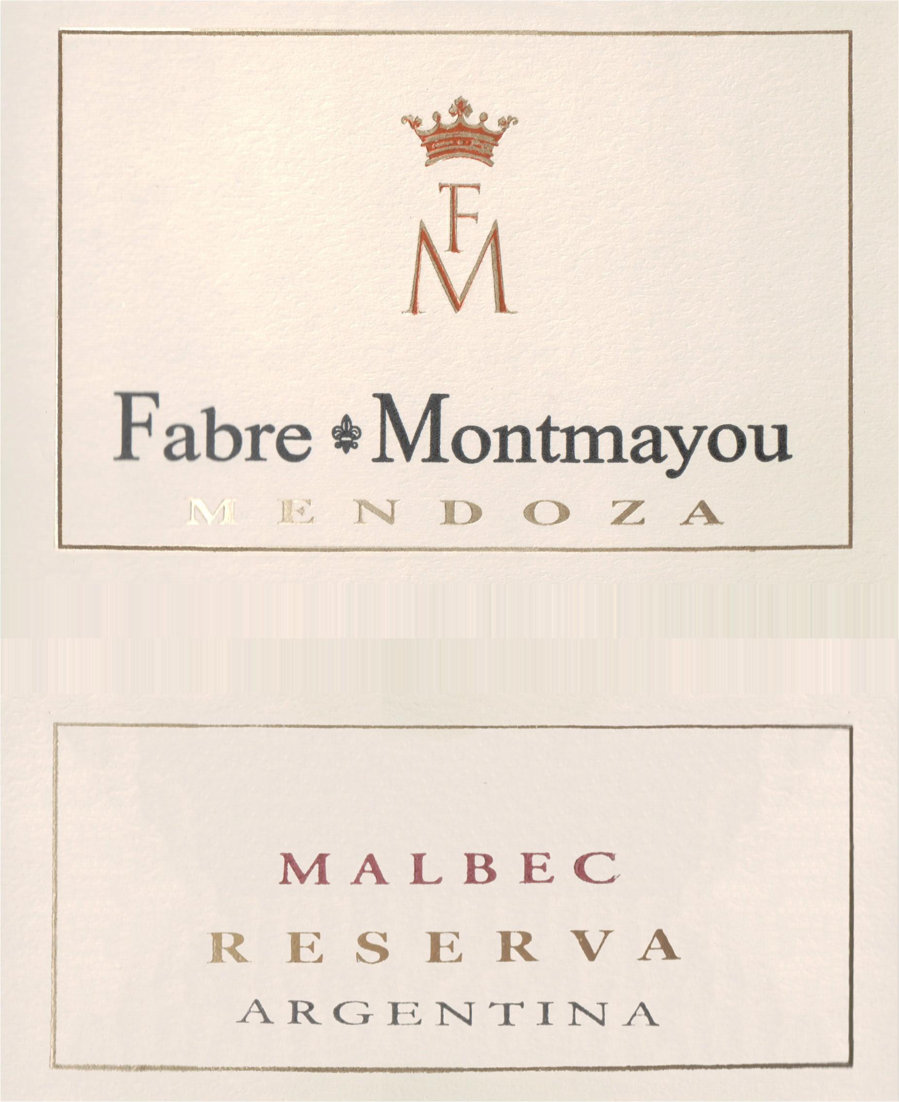 Fabre Montmayou Reserva Malbec 2019