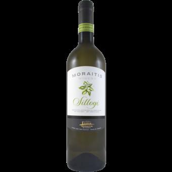 Bottle shot for 2019 Moraitis Cyclades White Sillogi