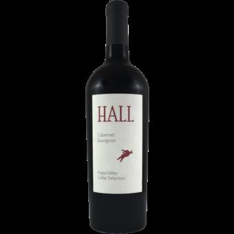 Bottle shot for 2017 Hall Vineyards Cabernet Sauvignon