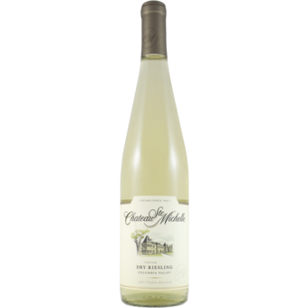 Bottle shot for 2019 Chateau St. Michelle Dry Riesling