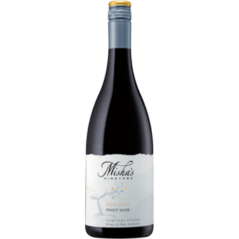 Bottle shot for 2013 Misha's Verismo Pinot Noir