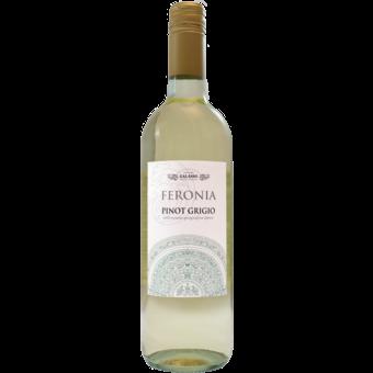 Bottle shot for 2018 Feronia Pinot Grigio