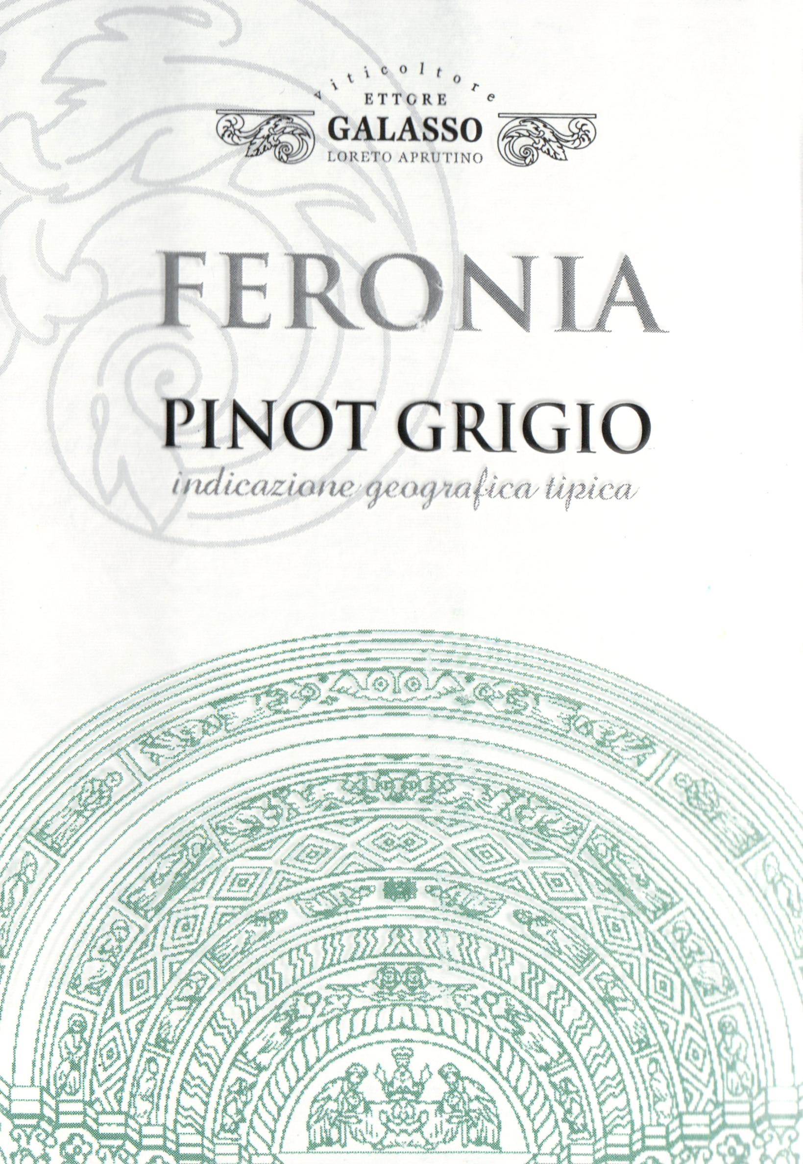Feronia Pinot Grigio 2018