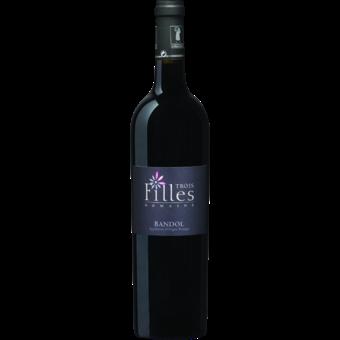 Bottle shot for 2016 Domaine Des 3 Filles Bandol Rouge