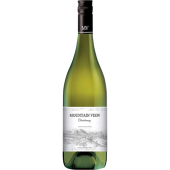 Bottle shot for 2018 Mountain View Vintners Chardonnay