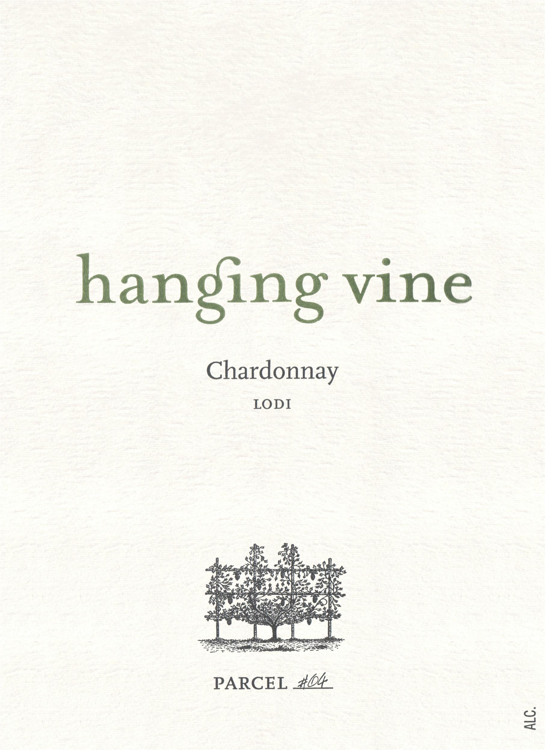 Hanging Vine Chardonnay Lodi 2017