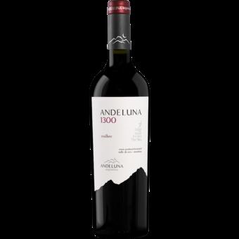 Bottle shot for 2019 Andeluna Cellars 1300 Malbec