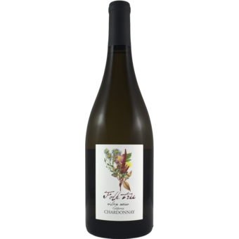 Bottle shot for 2019 Folk Tree Village Series Chardonnay