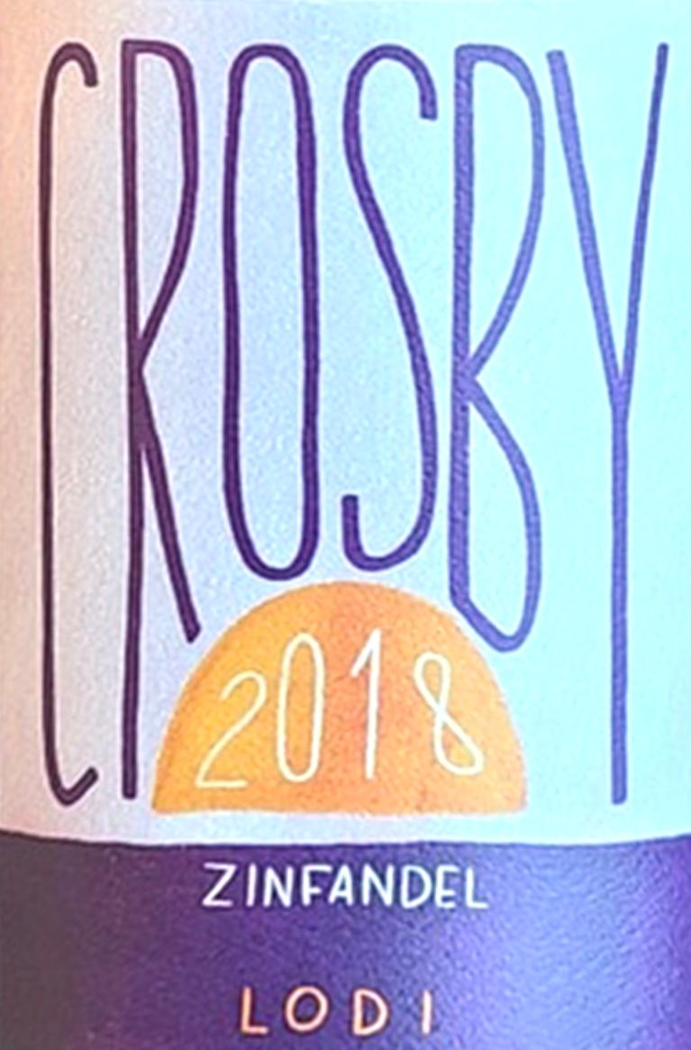 Crosby Zinfandel Lodi 2018