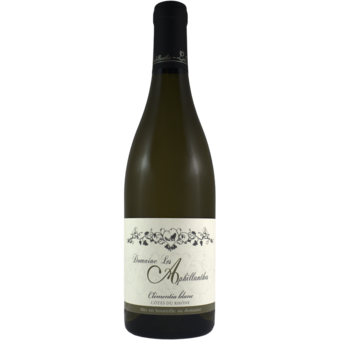 Bottle shot for 2019 Domaine Aphillanthes Cotes Du Rhone Clementia Blanc