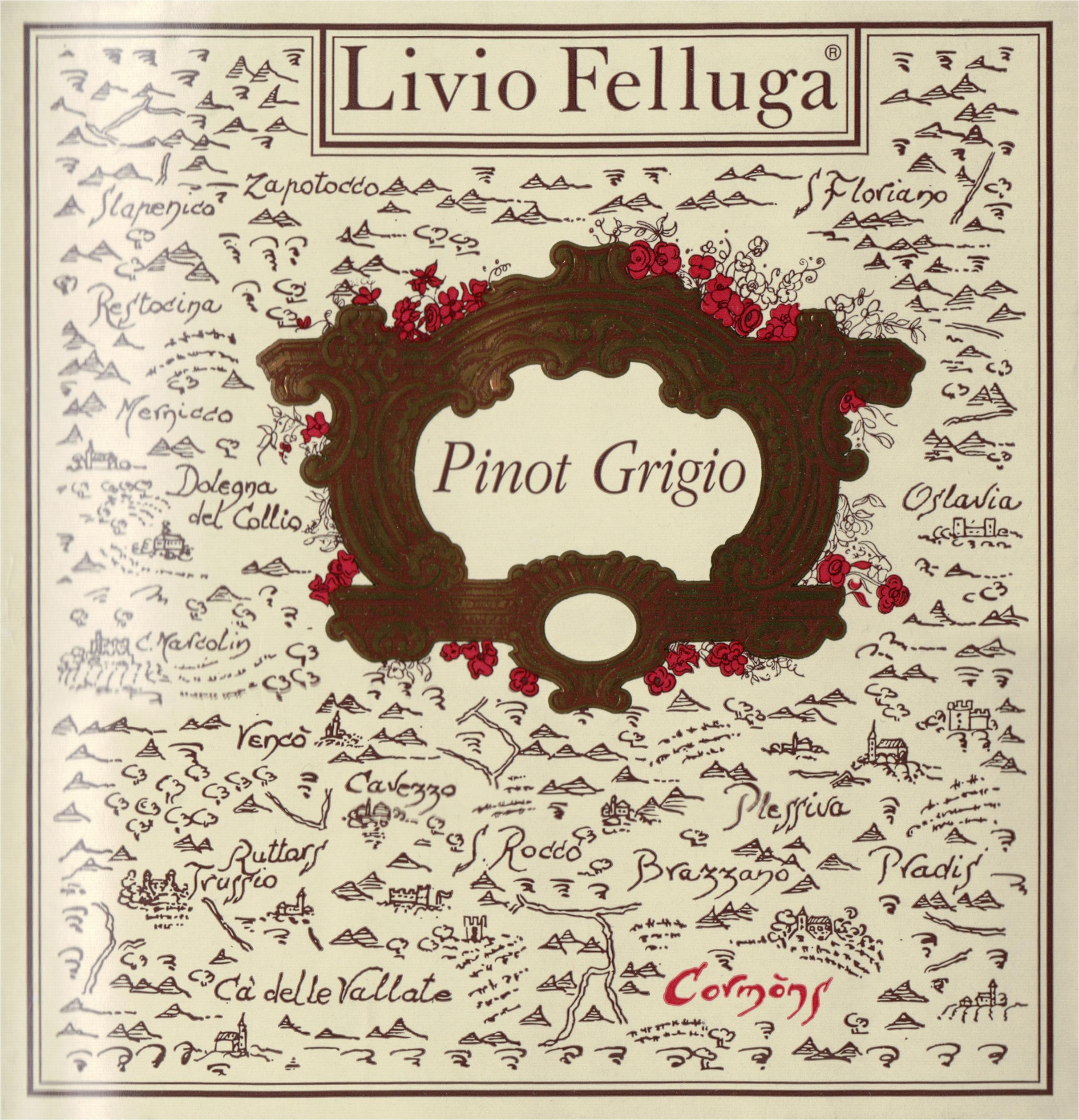 Livio Felluga Pinot Grigio 2018
