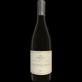 Bottle shot for 2018 Maison Deux Fleurs Coteaux Bourguignons